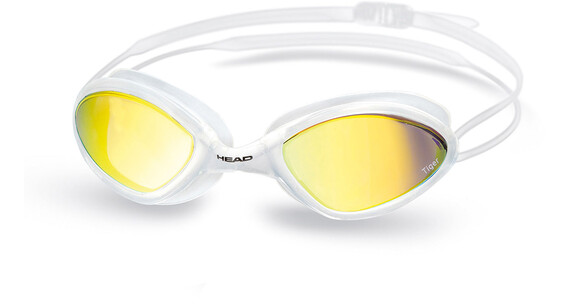 Head Tiger Race LS Mirrored Clear-White-Smoked Mirrored